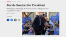 """He Has Summoned a Political Revolution"": The Nation Magazine Endorses Bernie Sanders for President"