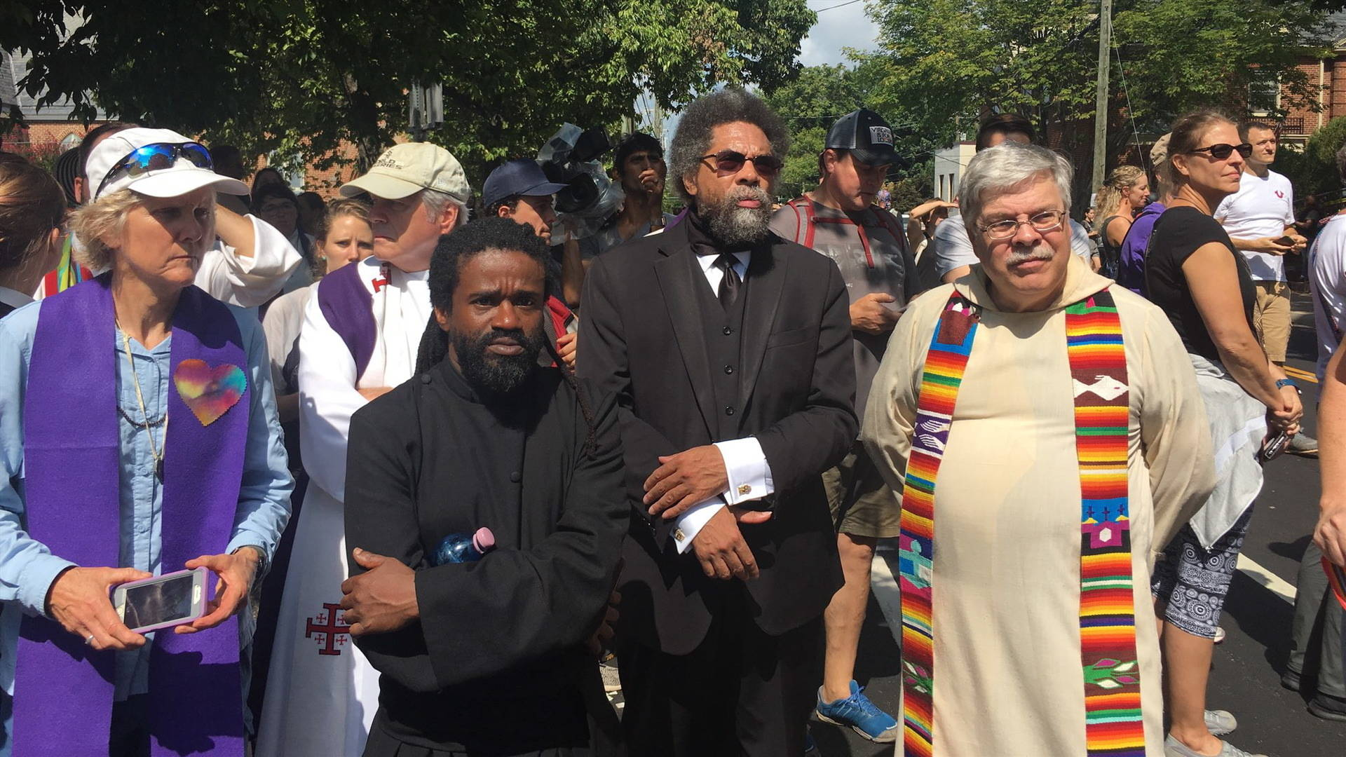 Cornel West & Rev. Toni Blackmon: Clergy in Charlottesville Were Trapped by Torch-Wielding Nazis
