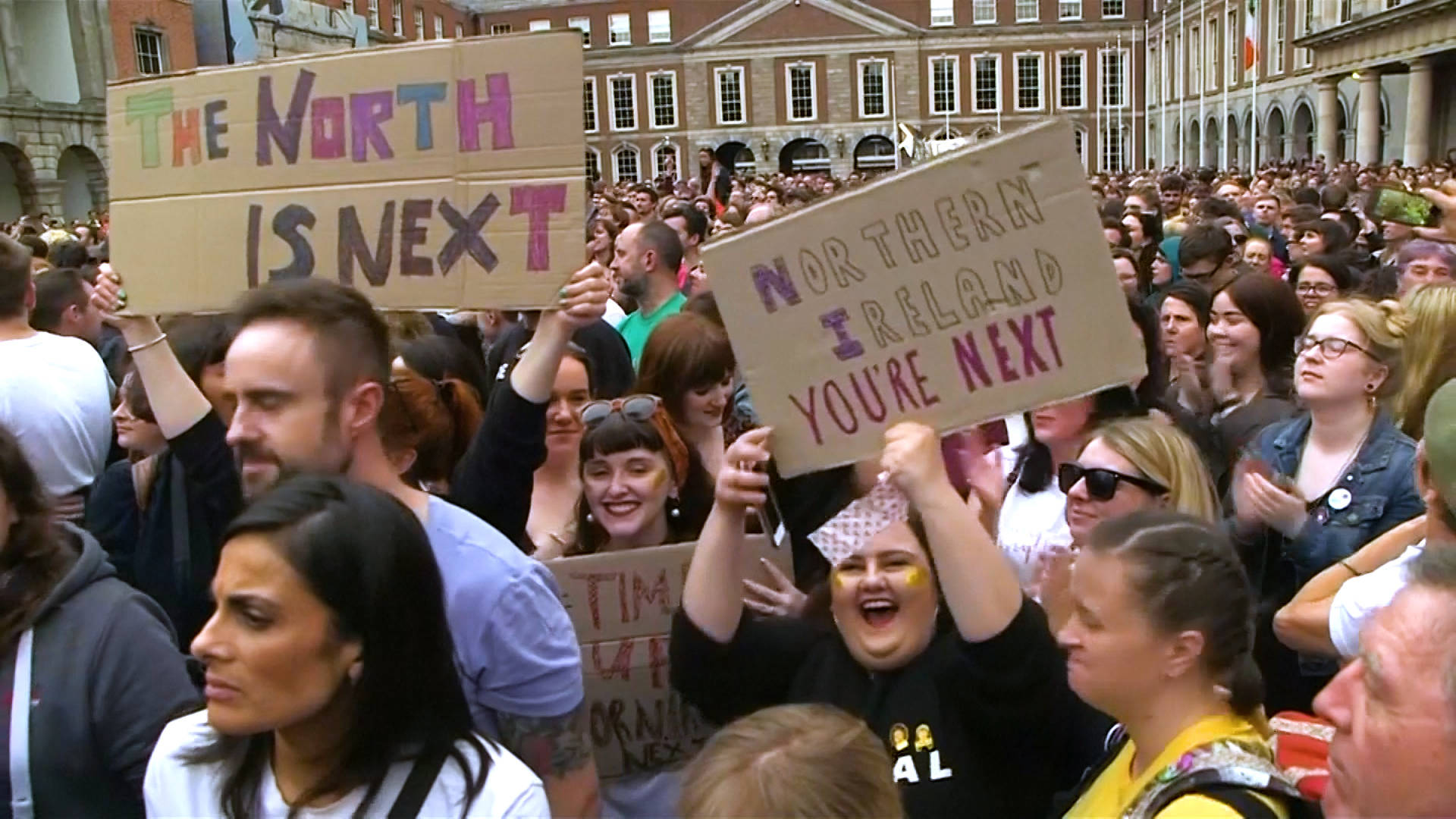 After Ireland's Historic Abortion Vote, Calls Grow for Abortion Rights in Nort...
