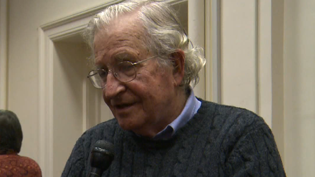 Interview noam chomsky