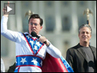 "Jon Stewart and Stephen Colbert Lead Massive Rally to ""Restore Sanity and/or Fear"" in DC"