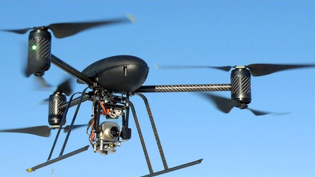 Surveillence drone