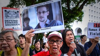 Snowden honk kong