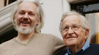 Chomsky assange