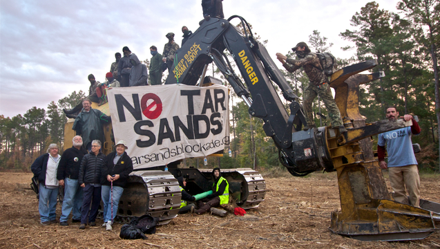 Keystone xl texas protesters fbi spying 2