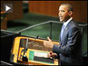 "Obama UN Speech on Mideast Talks ""Filled with Empty Words"" - Palestinian Attorney Diana Buttu"