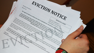 Mock eviction notice syjil ashraf targum