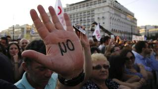 Greeks vote no use