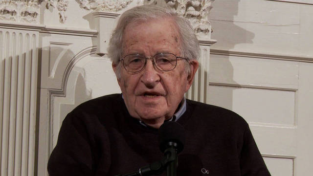 Noam chomsky in cambridge