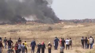 S2 gaza protest