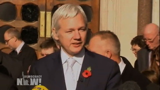Button assange