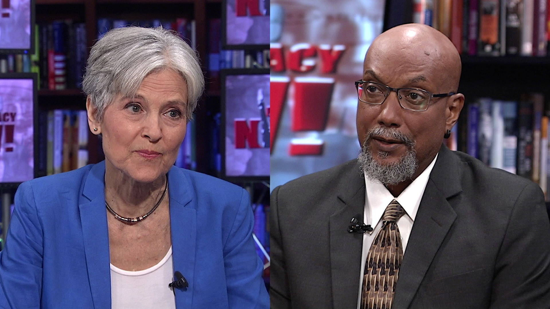 Stein & Baraka to Bernie Sanders Supporters: Vote Green & Abandon the Party of War and Wall Street