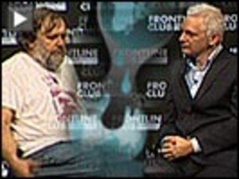 Assange zizek wikileaks