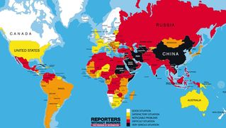 Pressfreedom map