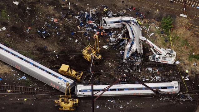 Amtrak derailment crash philadelphia nyc 2
