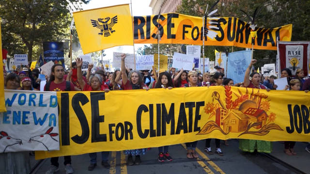 Seg riseforclimate march