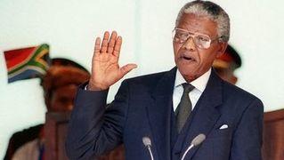 Mandela inaguration