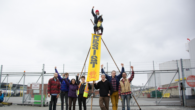 Shell seattle protest arctic drilling 2