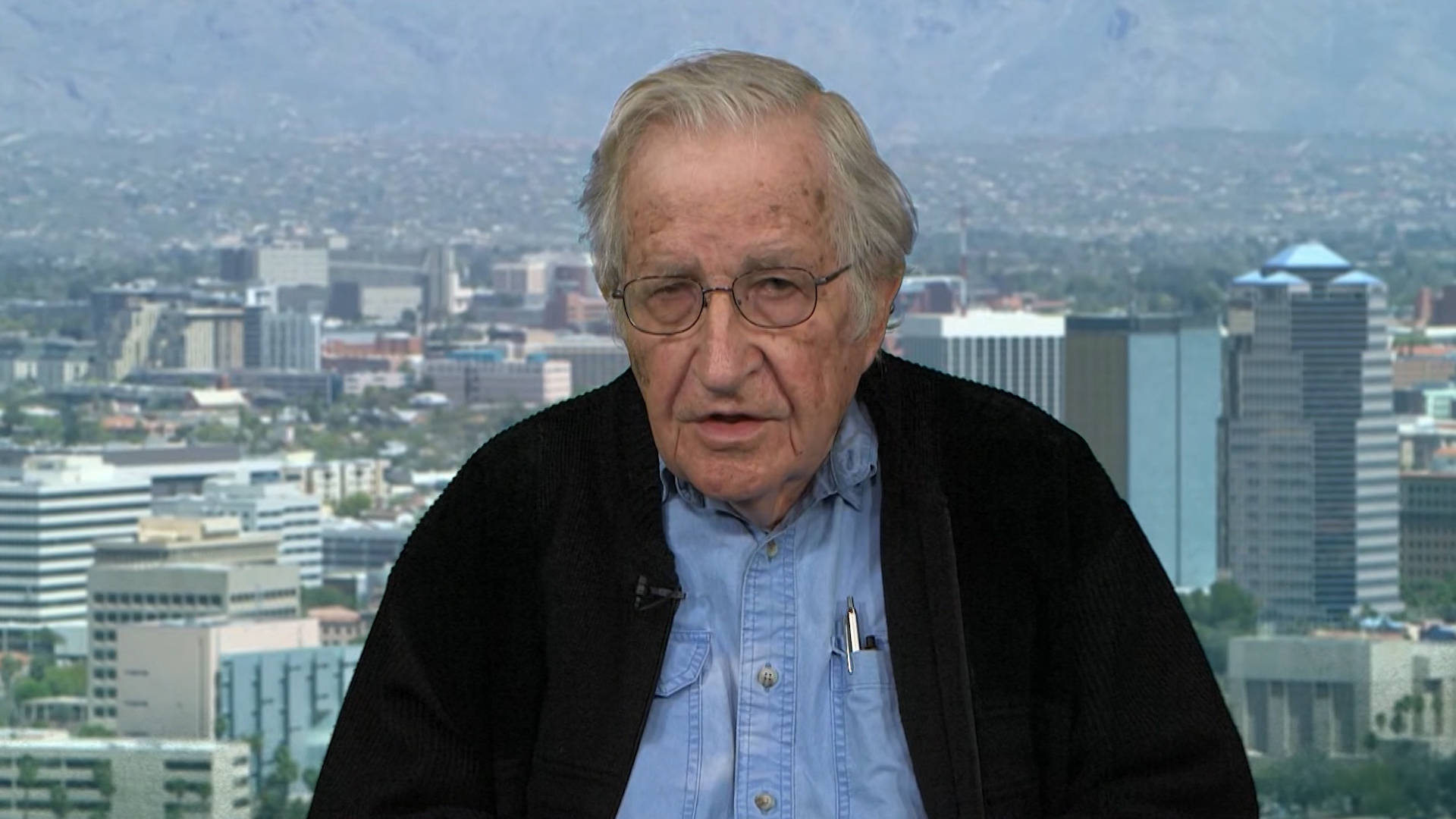 Noam Chomsky: The Future of Organized Human Life Is At Risk Thanks to GOP's Climate Change Denialism