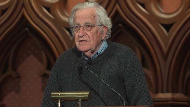Guest chomsky lectern