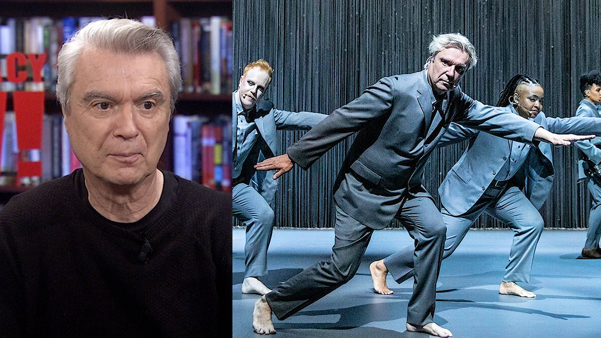 David Byrne on His Broadway Show