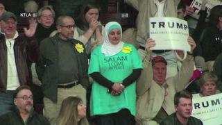 Trumpprotestors ktla